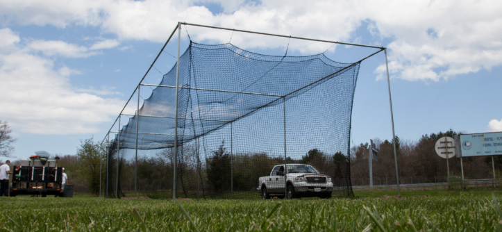 Learn more about the ProMounds batting cage kit from On Deck Sports