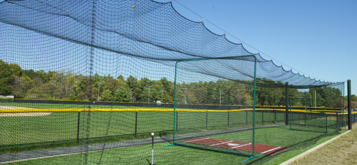 Outdoor batting cage flooring How much does a sport court cost