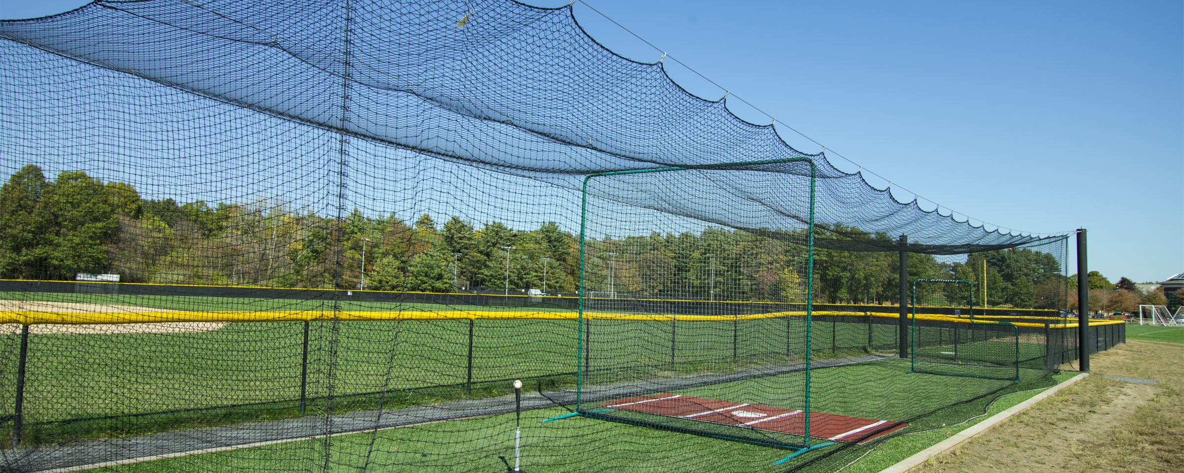 More information about the Mastodon batting cage system from On Deck Sports