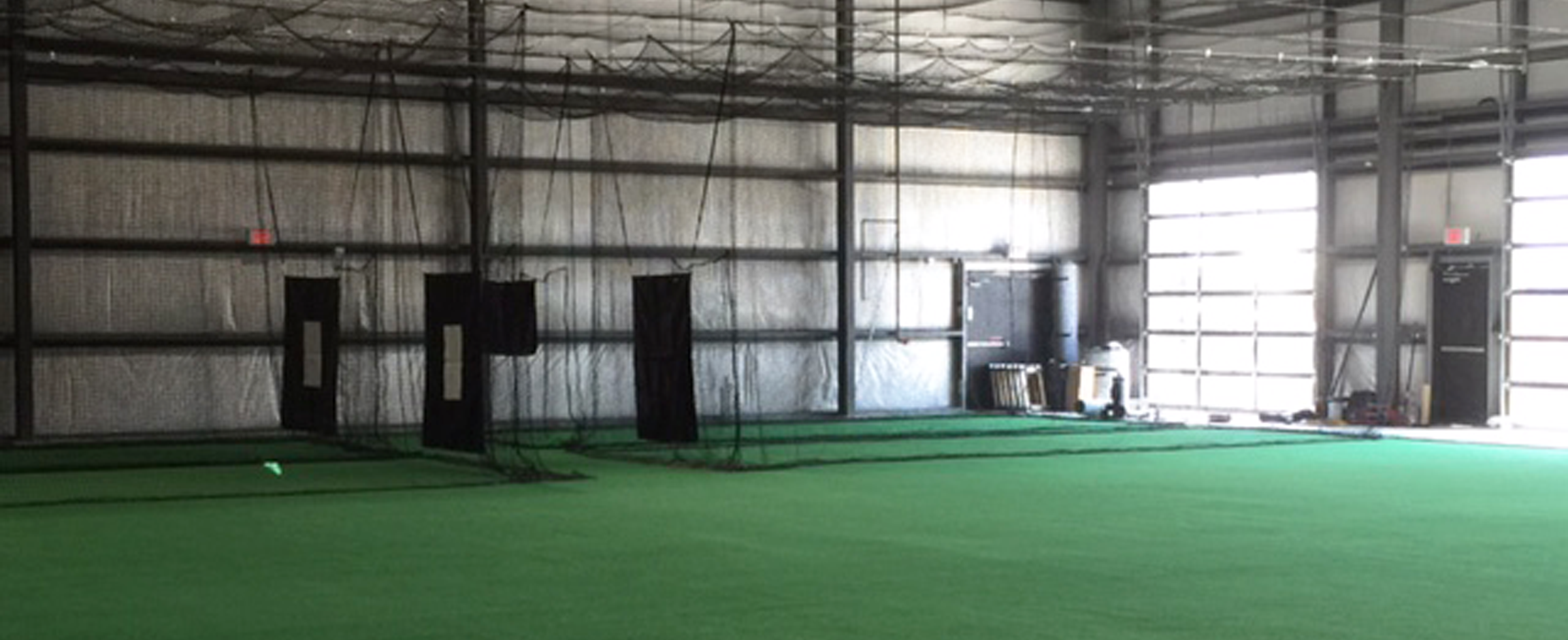 Indoor sports facility portfolio on deck sports blog for Design indoor baseball facility