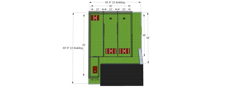 NextUp Baseball Academy Architectural Drawings