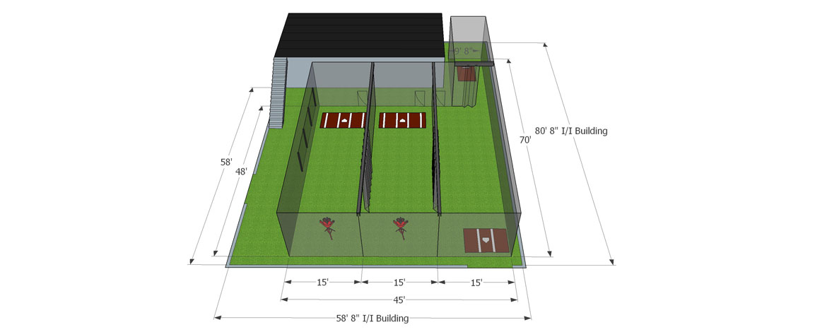 NextUp Baseball Academy Architectural Drawings
