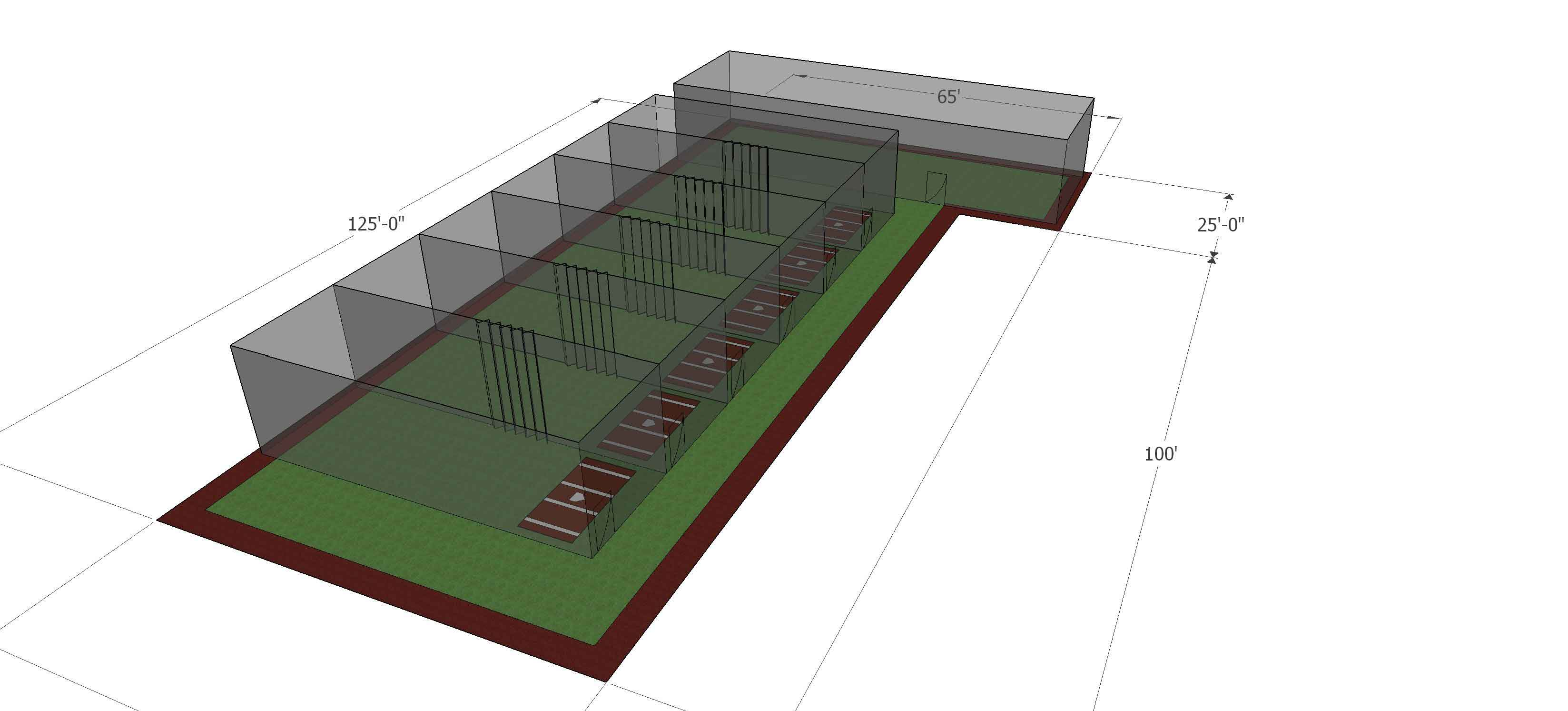 Installing a new indoor baseball facility in huntsville for Design indoor baseball facility