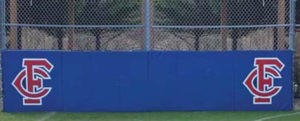 Backstop Padding with Grommets & Graphics
