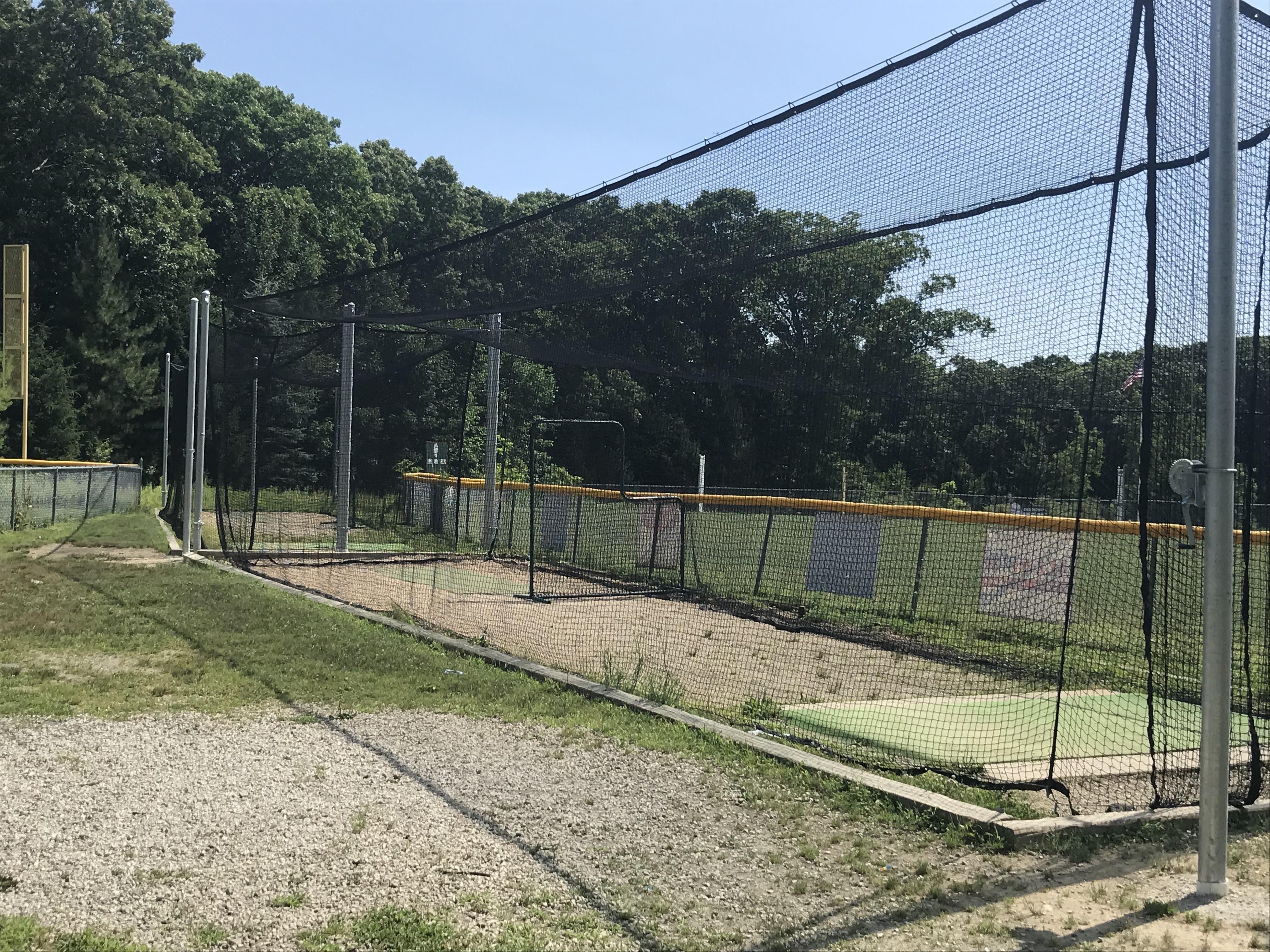 3 Batting Cages back-to-back